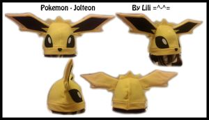 1st Gen - Jolteon Hat by LiliNeko
