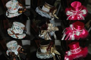 Little Lolita Hats by NoFlutter