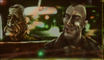 Taxi Driver Godfather cross over by Sebastien-Ecosse