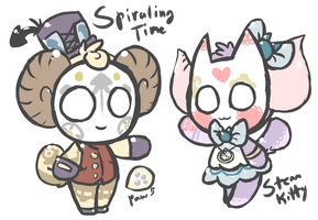 (CLOSED) Steampunk Onisheep AUCTION + new traits! by SteamPoweredRaptor