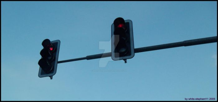 Red Traffic Lights by white-elephant11