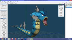 Gyarados Model papercraft edition by javierini
