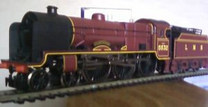 Hornby LMS Illustrious by Crystal-Eclair