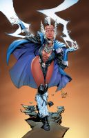 Asgardian Storm by roncolors