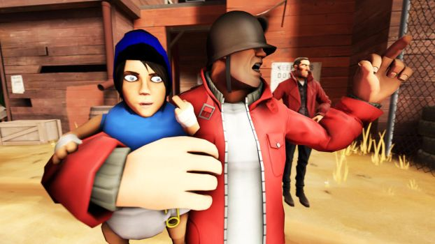 Worst   Babysitter Ever by TF2MCgirlCraft
