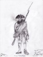 Valley Forge Soldier by EyeoftheDragon237