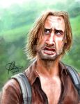 Sawyer 'LOST' Caricature by Rahimi001