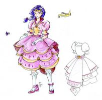 Rarity Lolita Dress by okayutaka