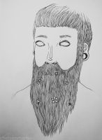 flowered beard by Mrs-Elric-613