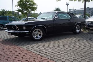 1969 Ford Mustang Coupe front by theTobs
