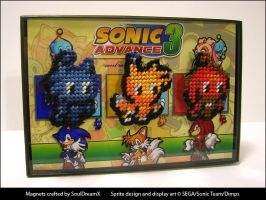 Sonic Advance 3 Chao Magnets 1 by souldreamx