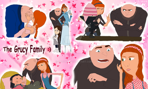 Grucy Family by GaByKiA