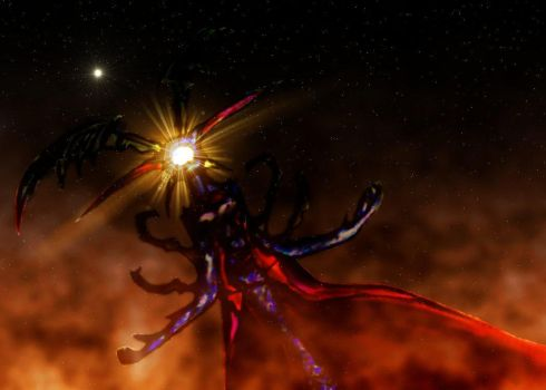 Ultimecia in space by Fanatism