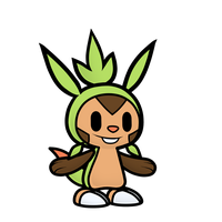 Paper Chespin by Coonstito