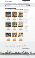 FREE PSD Hotel Booking WebTemplate by graphicloots