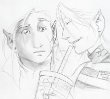 Hyde and Feroz by xaotl