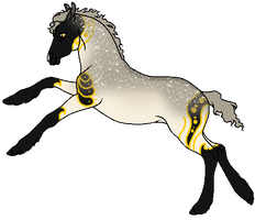 E516 Snjorrir Foal Design by TheMs0kitty