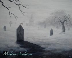 The Graveyard Bell by MadameAradia