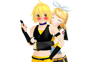 Vocaloid Pairing 17 by maydayfireball