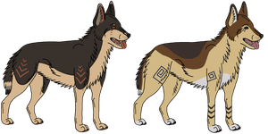 Closed - Tribal Adoptables by Bottled-Rottweiler