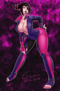 Commission - SFV Juri by Csium