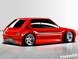 Peugeot 205 by thehppBG