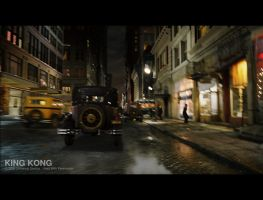 King Kong - Street by 3DnuTTa