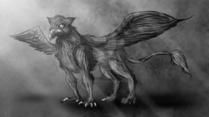 Griffin by MoonstalkerWerewolf