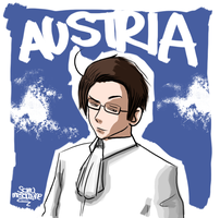 APH - Austria Little Sketch by ForeverSonu