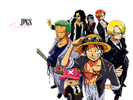 One Piece Render by JPGS