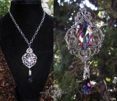 Twilight Array Crystal Necklace by Lillyxandra