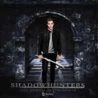 Jace Herondale Shadowhunters TV Show Poster by shadowhunterwitch