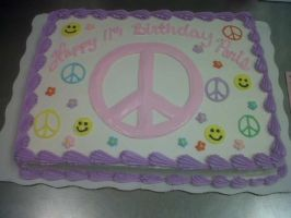 Peace and Happiness by AingelCakes