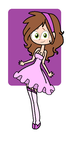 Befish's Pink Cutie Dress in my style by Obeliskgirljohanny
