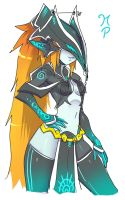 Midna New Suit by ManiacPaint