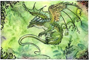 Green Dragon Vernation by Nambroth