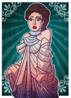 Commish - Padme Amadala by JoeHoganArt