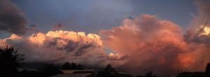 Stormy Sunset by SkinsT
