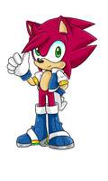 Amy X Sonic Fan Child .:Male:. by DJ-David-Jordan