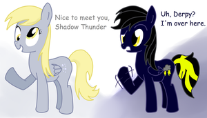 Request: Shadow Thunder by StaticWave12