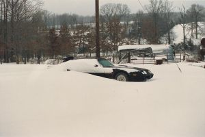 Snowed In Trans Am by narniamushroom02