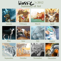 Art summary... thing. by Llassie