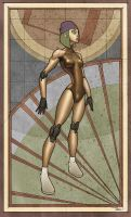 Ingrid droid by francis001