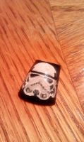 StormTrooper - Nail Art by DignifiedDoll