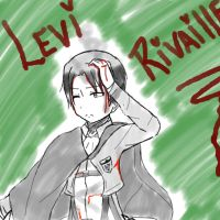 Levi Rivaille by Fionna-lahumana