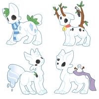 [OPEN - FOR SALE] Snowcats batch 1 by Ayinai