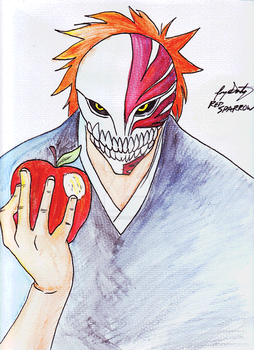 Shinigami only eat Apples by JorgeSantiagoJr