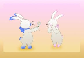 Bunnies by Mirri
