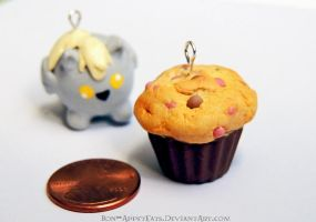 Commission - Muffin Charm by Bon-AppetEats