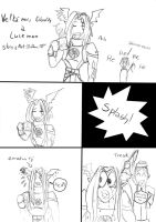 Easter, lash and Lucemon part 1 by Danitheangeldevil